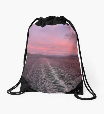 Wish It Didn't Have To End Drawstring Bag