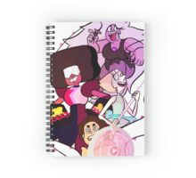 Steven Universe - Crystal Gems Spiral Notebook
