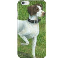 Bess the Hunting Dog, Original Painting iPhone Case/Skin