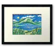 Go West. Framed Print