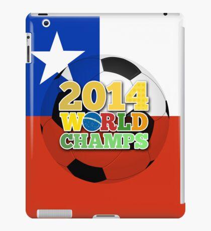 2014 World Champs Ball - Chile iPad Case/Skin