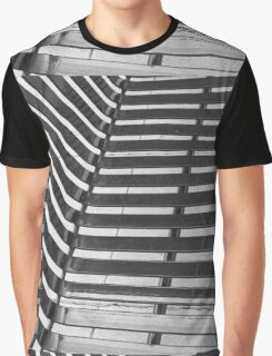 Linear Funtions or Straight curves in Balck & white Graphic T-Shirt