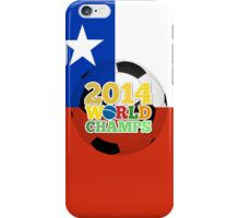 2014 World Champs Ball - Chile iPhone Case/Skin