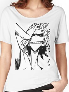 All Might-Boku no Hero Academia Women's Relaxed Fit T-Shirt