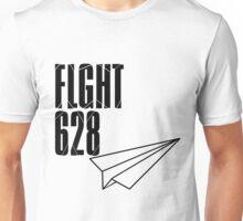 Flight 628: Black Unisex T-Shirt