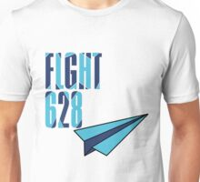 Flight 628: Blue Unisex T-Shirt