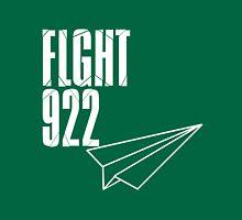 Flight 922: White Unisex T-Shirt