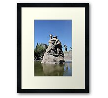 Monument to the Heroes of the Battle of Stalingrad Framed Print