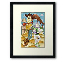 You've got a friend in me Framed Print