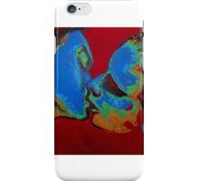 Lovers - Tender Kiss iPhone Case/Skin