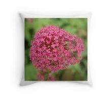 Pink Flower Cushion Throw Pillow