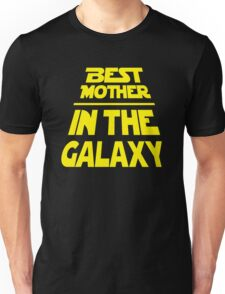 Best Mother in the Galaxy - Title Crawl Unisex T-Shirt