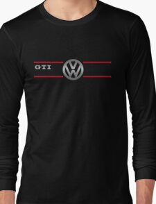 GTI black Long Sleeve T-Shirt