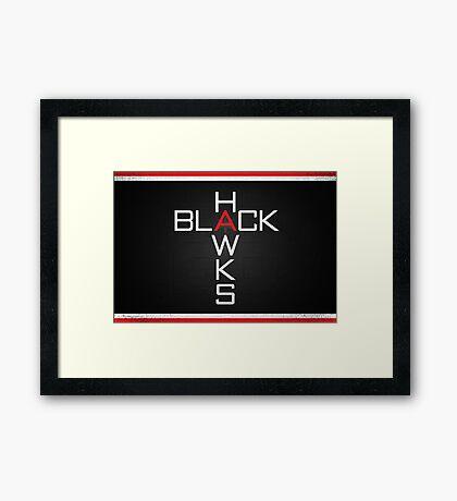 Black Hawks '26 Framed Print