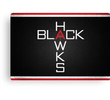 Black Hawks '26 Canvas Print