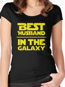 Best Husband in the Galaxy Women's Fitted Scoop T-Shirt