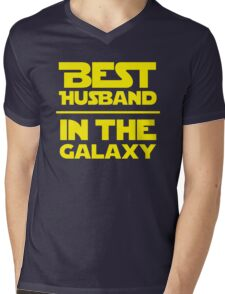 Best Husband in the Galaxy Mens V-Neck T-Shirt