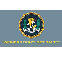 Winner's Don't Get Salty Photographic Print