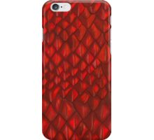 Game of Thrones - Red Dragon Scales iPhone Case/Skin
