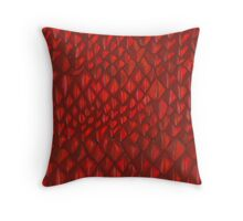 Game of Thrones - Red Dragon Scales Throw Pillow