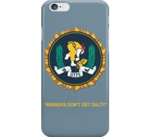 Winner's Don't Get Salty iPhone Case/Skin