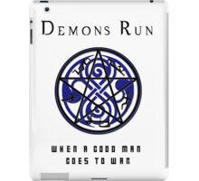 SuperWHO - Demons Run iPad Case/Skin