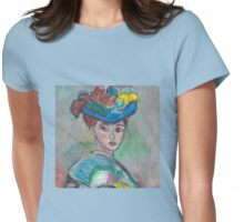 The Woman With The Hat(After Matisse) Womens Fitted T-Shirt