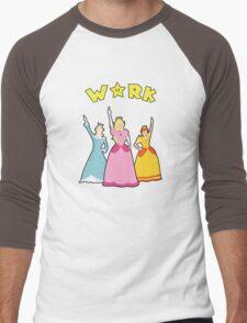 Super Hamilton Princesses Men's Baseball ¾ T-Shirt