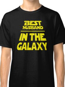 Best Husband in the Galaxy - Title Crawl Classic T-Shirt