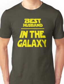 Best Husband in the Galaxy - Title Crawl Unisex T-Shirt