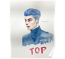 Blue TOP Poster
