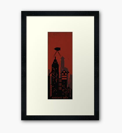 Knight Sky Framed Print
