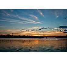 Evening Kyiv Photographic Print