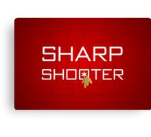 Sharp Shooter Canvas Print