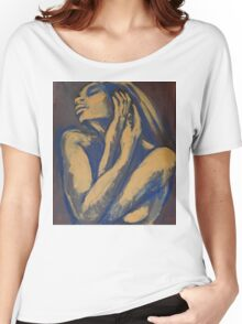 Emotional - Female Nude Portrait Women's Relaxed Fit T-Shirt