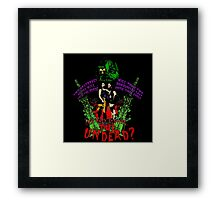 Tick and Tock vs. the Undead Framed Print