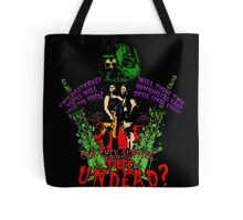Tick and Tock vs. the Undead Tote Bag