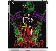 Tick and Tock vs. the Undead iPad Case/Skin
