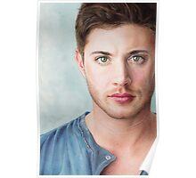 Jensen Ackles - Dean Winchester Pencil Portrait Poster