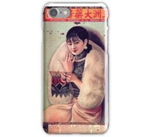 Chinese Girl Fortune iPhone Case/Skin
