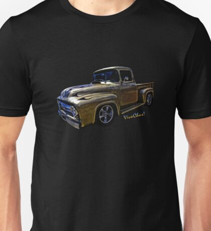Flaming Ford Pickup T-Shirt from VivaChas! Unisex T-Shirt