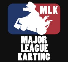 Major League Karting Tee by TooManyPixels