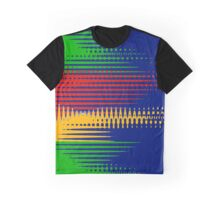 Primary Colors Drifting - Blue - Yellow - Red - Green IV Graphic T-Shirt