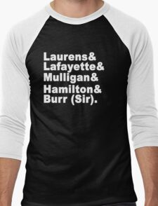 Hamilton Men's Baseball ¾ T-Shirt