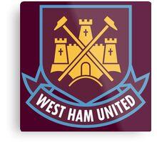 West Ham United F.C. Metal Print