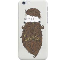 Beard Swag (Highlights) iPhone Case/Skin