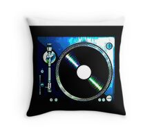 TURNTABLE_ RIGHT Throw Pillow