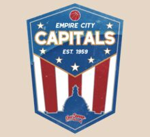 Empire City Capitals Basketball by newdamage