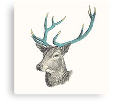 Party Animal: Deer Canvas Print