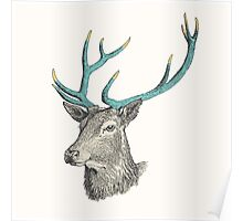 Party Animal: Deer Poster